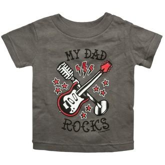 tee-shirt métal pour hommes pour femmes enfants unisexe - My Dad Rocks - SOURPUSS, SOURPUSS