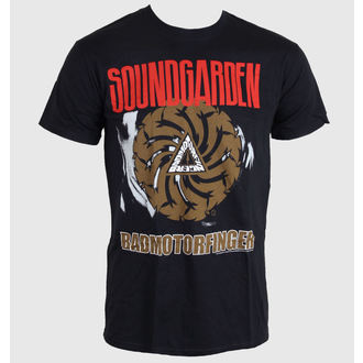 tee-shirt pour hommes Soundgarden - Badmotor Finger - Noire - ROCK OFF, ROCK OFF, Soundgarden