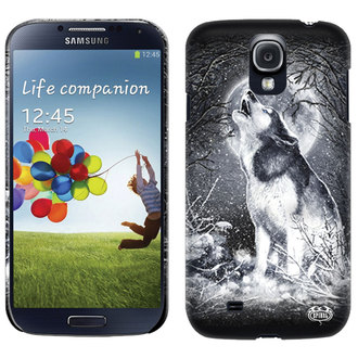 couvercle pour portable SPIRAL - BLANC WOLF - SAMSUNG, SPIRAL