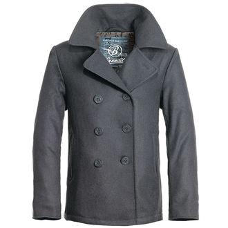 veste pour hommes d`hiver (KABÁT) Brandit - Pea Coat - Anthrazit, BRANDIT
