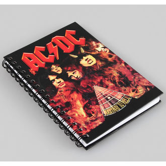 de notes carnet AC / DC, AC-DC