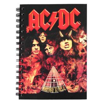de notes carnet AC / DC, NNM, AC-DC