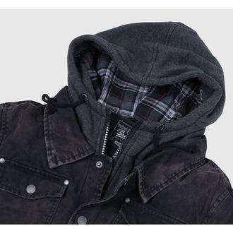 veste d`hiver pour hommes - Dayton - BRANDIT - 3139-black