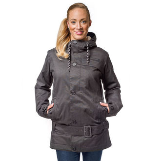 veste pour femmes d`hiver HORSEFEATHERS - TRINITY - Anthracite, HORSEFEATHERS