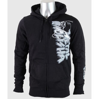 sweat-shirt avec capuche pour hommes - BRUSH - METAL MULISHA, METAL MULISHA