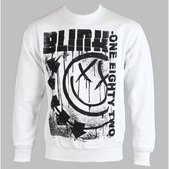 sweat-shirt sans capuche pour hommes Blink 182 - SPELLED OUT - LIVE NATION, LIVE NATION, Blink 182