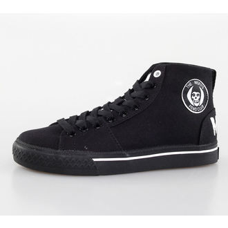chaussures de tennis montantes pour femmes Misfits - Misfits High Top - IRON FIST - Black, IRON FIST, Misfits