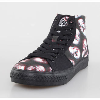 chaussures de tennis montantes pour femmes - Skull Of Doom Broadway High - IRON FIST, IRON FIST
