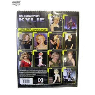 calendrier pour année 2009, NNM, Kylie Minoque