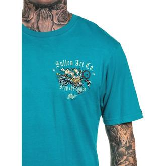T-shirt SULLEN pour hommes - VOYAGE - TILE  BLEU , SULLEN