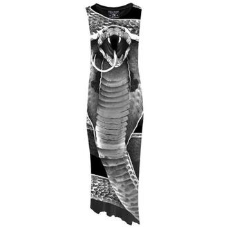 robe pour femmes KILLSTAR - Cobra - Digital Noire