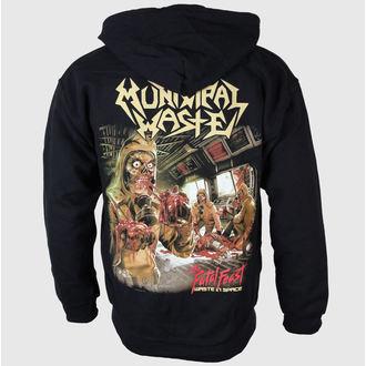 sweat-shirt avec capuche pour hommes Municipal Waste - Fatal Feast - Just Say Rock, Just Say Rock, Municipal Waste