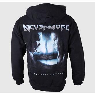 sweat-shirt avec capuche pour hommes Nevermore - Logo-Album Back - Just Say Rock, Just Say Rock, Nevermore