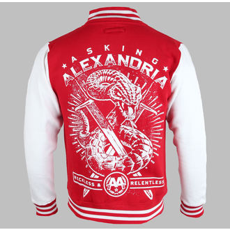 sweat-shirt avec capuche pour hommes Asking Alexandria - Snake (Varsity) - PLASTIC HEAD, PLASTIC HEAD, Asking Alexandria