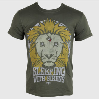 tee-shirt métal pour hommes Sleeping With Sirens - Lion Crest - PLASTIC HEAD, PLASTIC HEAD, Sleeping With Sirens