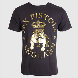 tee-shirt métal pour hommes Sex Pistols - Bull Dog Foil - AMPLIFIED, AMPLIFIED, Sex Pistols