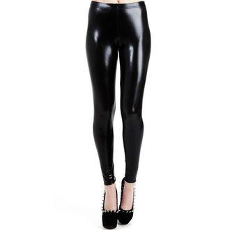 caleçons longs PAMELA MANN - Wet Look Leggings - Noire - PM076