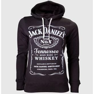 sweat-shirt avec capuche pour femmes Jack Daniels - Black - JACK DANIELS, JACK DANIELS