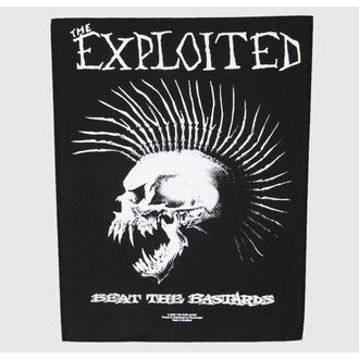 applique grand The Exploited - Beat The Bâtards - RAZAMATAZ, RAZAMATAZ, Exploited