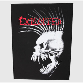 applique grand The Exploited - Bastard Skull - RAZAMATAZ, RAZAMATAZ, Exploited