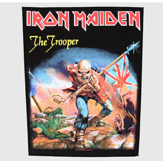applique grand Iron Maiden - The Trooper - RAZAMATAZ, RAZAMATAZ, Iron Maiden