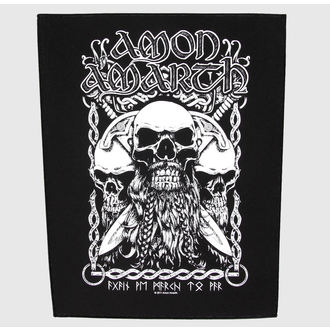 applique grand Amon Amarth - Bearded Skull - RAZAMATAZ, RAZAMATAZ, Amon Amarth