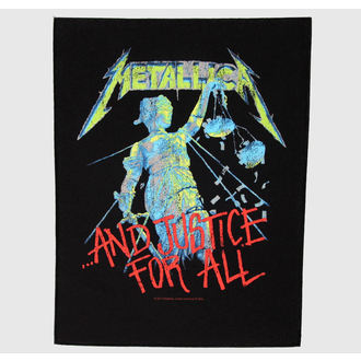 applique grand Metallica - And Justice For All, RAZAMATAZ, Metallica