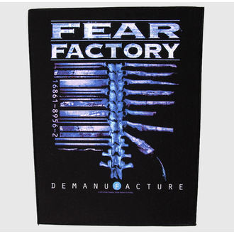 applique grand Fear Factory - Demanufacture - RAZAMATAZ, RAZAMATAZ, Fear Factory