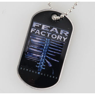 collier (de chien plaque) Fear Factory - Demanufacture - RAZAMATAZ, RAZAMATAZ, Fear Factory