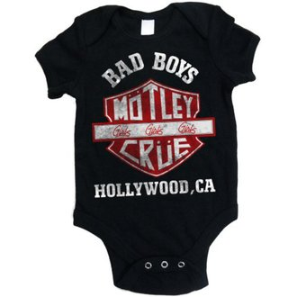 body enfants Mötley Crüe - Bad Boys Shield - ROCK OFF, ROCK OFF, Mötley Crüe