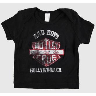 tee-shirt métal enfants Mötley Crüe - Bad Boys Shield Toddler - ROCK OFF, ROCK OFF, Mötley Crüe