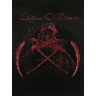 drapeau Children of Bodom - Traversé Scythes, HEART ROCK, Children of Bodom