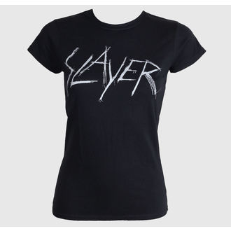 tee-shirt métal pour femmes Slayer - Scratchy Logo - ROCK OFF, ROCK OFF, Slayer