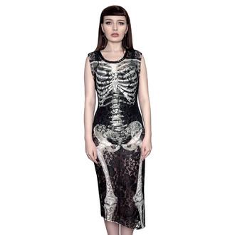 robe pour femmes KILLSTAR - Skeletor Lace Maxi, KILLSTAR