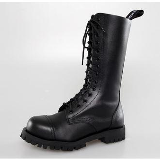 bottes en cuir pour femmes - Black - ALTERCORE - 552