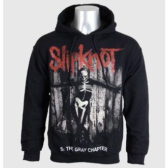 sweat-shirt pour hommes Slipknot - 5 The Gris Chapter - Noir - BRAVADO UE, BRAVADO EU, Slipknot