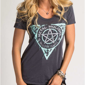 tee-shirt street pour femmes - THE FINEST - METAL MULISHA, METAL MULISHA