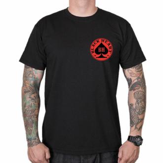 T-shirt pour homme BLACK HEART - ACE - NOIR, BLACK HEART