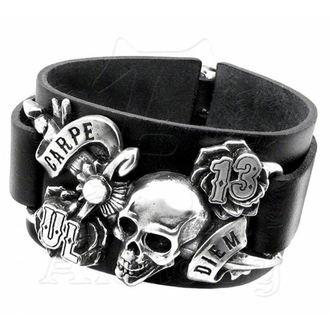 bracelet ALCHEMY GOTHIC - Carpe Diem, ALCHEMY GOTHIC