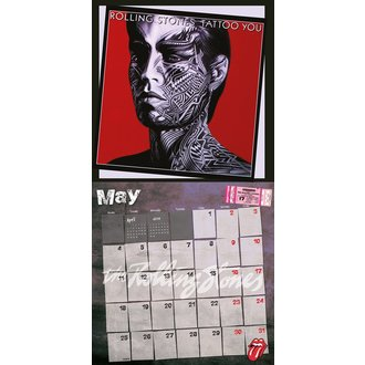 calendrier 2015 ROLLING PIERRES, Rolling Stones