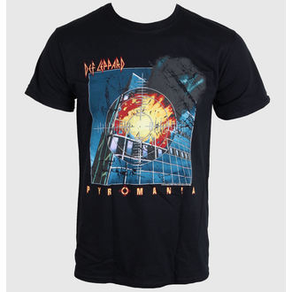 tee-shirt pour hommes DEF LEPPARD - Pyromanie - NOIRE - LIVE NATION, LIVE NATION, Def Leppard