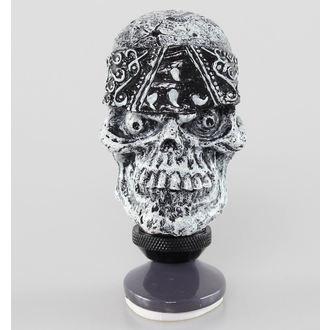décoration (tête équipement du levier) LETHAL THREAT - Skull Head Décalage Knog, LETHAL THREAT