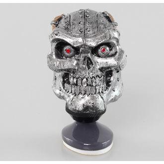 décoration (tête équipement du levier) LETHAL THREAT - Cyborg Skull Décalage Bouton / Dash Topper, LETHAL THREAT