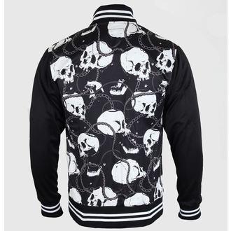 veste printemps / automne pour hommes - Skull & Chains - LIQUOR BRAND, LIQUOR BRAND