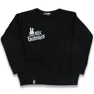 sweat-shirt sans capuche enfants - Rock Bunnies - SIX BUNNIES, SIX BUNNIES