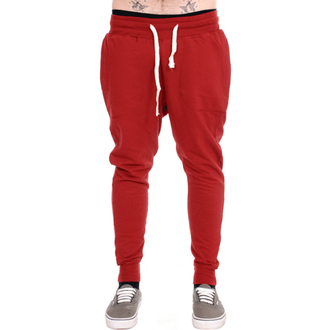 pantalon unisexe (survêtement) 3RDAND56th - Carrot Fit Jogger - Bordeaux, 3RDAND56th