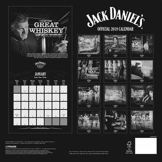 Calendrier 2019 JACK DANIELS, JACK DANIELS
