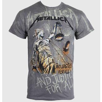 tee-shirt métal pour hommes Metallica - Justice Neon All - NNM - RTMTLTSCHNEO