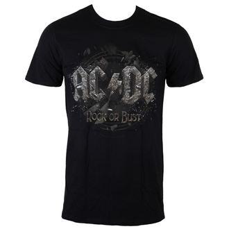 tee-shirt métal pour hommes AC-DC - Rock Or Bust - LIVE NATION, LIVE NATION, AC-DC