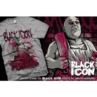 t-shirt hardcore pour hommes - Grey - BLACK ICON, BLACK ICON